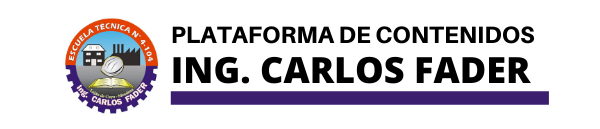 Plataforma Ing. Carlos Fader